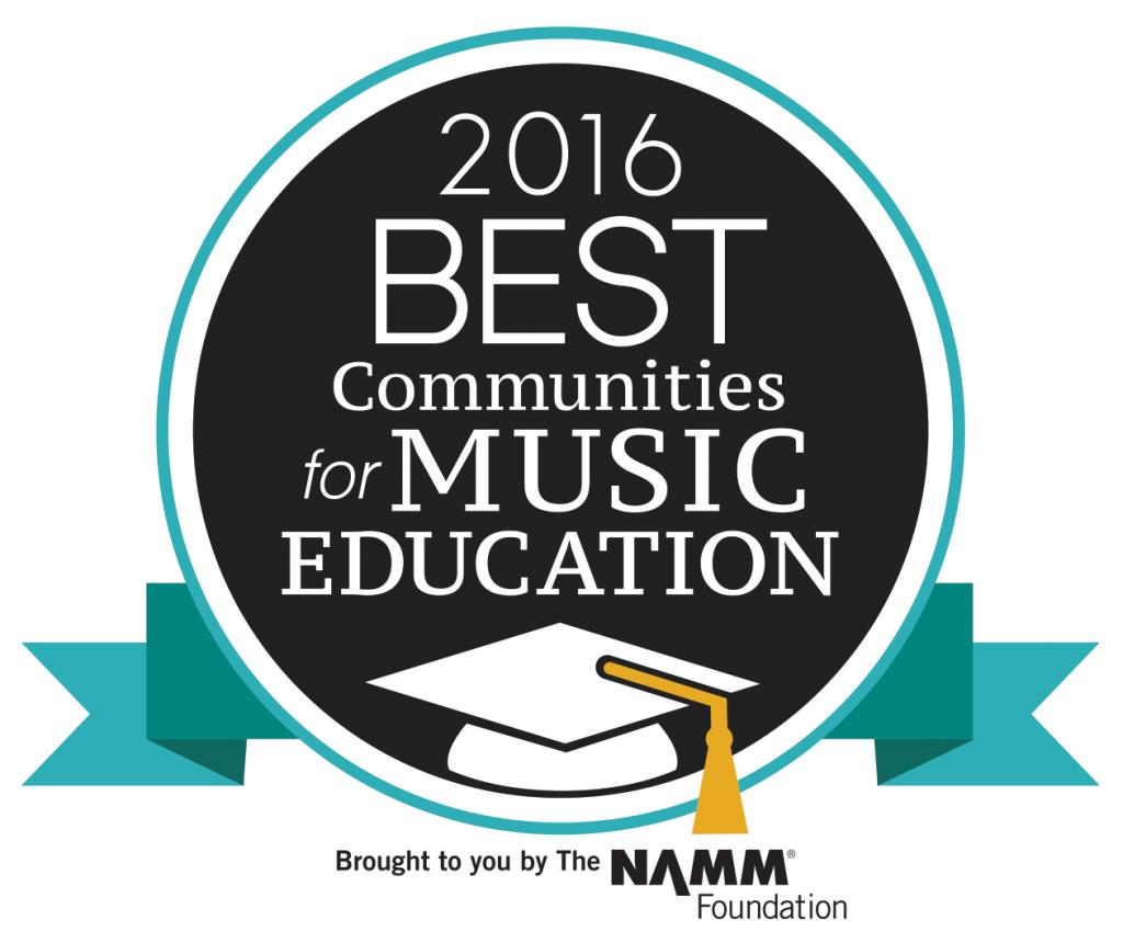2016 Best Communities for Music Education