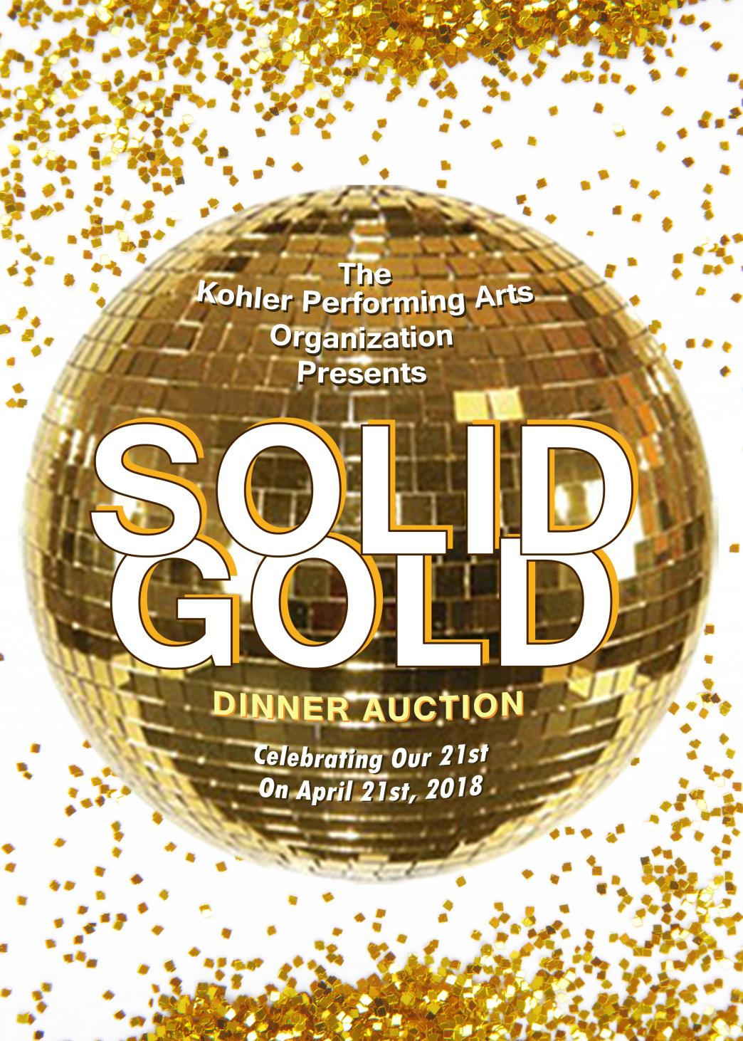 Solid Gold Dinner Auction