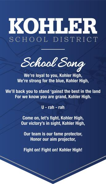 Kohler School Song Lyrics