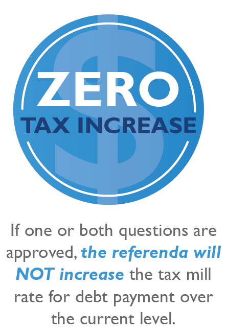 zero tax increase