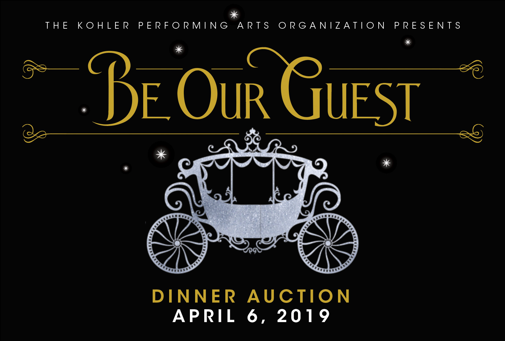 Be Our Guest Dinner Auction
